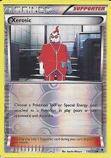 POKEMON XY PHANTOM FORCES - XEROSIC 110/119 REV HOLO TRAINER CARD