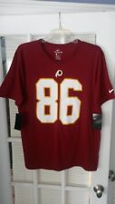 NIKE Washington Redskins Jordan Reed #86 Jersey Shirt Athletic Fit in Burgundy