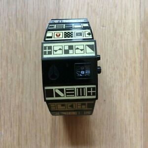 NIXON The ROTOLOG Modical World-Limited 1000 Watch Stainless Mens Analog cz175