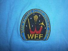 NASA WFF WALLOPS FLIGHT FACILITY T SHIRT Embroidered Logo Goddard Rocket Science