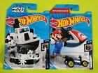 2021 Hot Wheels (New L Case) Mario kart *Standard Kart* & Micky Mouse Steamboat