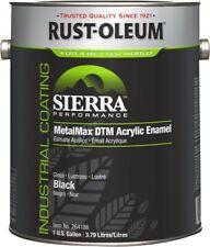 New listing Sierra Performance MetalMax® Plus Dtm Acrylic Enamel- Black, 1-Gallon