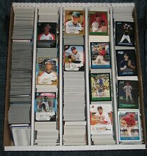 2005 Bowman Draft Baseball Base Gold White Chrome Refractors approx 542 Card Lot