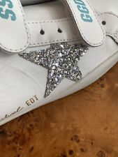 Golden Goose Old School White Silver Ice Sneakers US 9 - EU 39 Big Kid