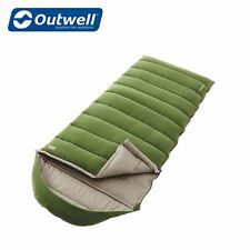 Outwell Constellation Sleeping Bag Green Single Adult 230143