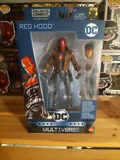 "DC Comics RED HOOD JASON TODD Multiverse DCUC 6"" Figure KILLER CROC C&C Batman"