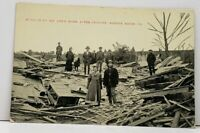 Shreve Ridge Pa Remains of Mr Lee's Home After Cyclone c1909 Postcard H2