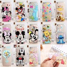 NEW Disney Cartoon Case Cover For iPhone 5 5S 6 6S 7 Plus Samsung Models C0009