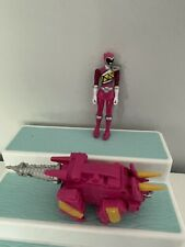 Power Rangers Dino Charge Pink Triceratops Zord Megazord Figure Lot 2