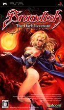 Brandish Dark Revenant PSP Falcom Sony Playstation Portable From Japan