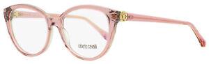 Roberto Cavalli Oval Eyeglasses RC5073 Marradi 081 Rose 54mm 5073