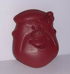 Vintage Post Pebbles Cereal Flintstones Barney Coin Purse Cereal Premium