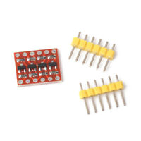 2X(4 channel logic high conversion bidirectional shifter module 3.3 V 5 V4E1)