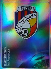 Panini 532 logotipo emblema victoria plzen uefa cl 2011/12