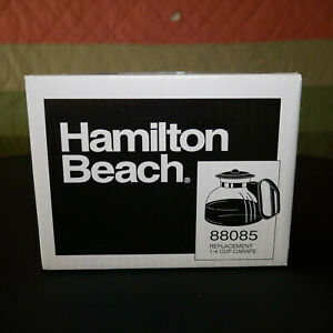 NEW Hamilton Beach 88085 Replacement 1-4 Cup Carafe 4 Pouring Glass Coffee Pot