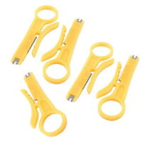 5PCS Network Lan Wire Cable Punch Down Cutter Stripper UTP RJ45 Cat5/5e/6 Useful