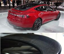 Carbon Fiber Trunk Lip Spoiler For Tesla Model S 2012 2013 2014 2015 2016 2017
