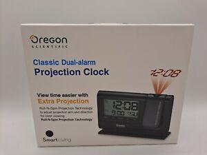 Oregon Scientific RM308P Classic Dual-Alarm Projection Clock - Black