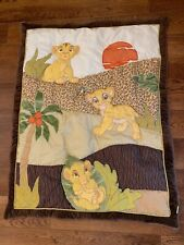 Disney Lion King Simba Baby Infant Quilt Wall Hanging Blanket!
