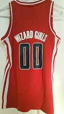 Adidas Women's NBA Jersey Wizards #00 Red Fashion sz L