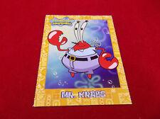 Spongebob Squarepants Mr. Krabs 2003 Viacom International Trading Card