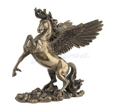 Rearing Pegasus Greek Mythology Statue Sculpture Figure