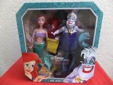 Disney Ariel And Ursula Signature Collection Doll Set