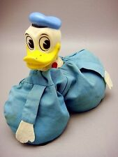 Vintage Donald Duck Bean Bag Rubber Head Figure Two Footed Walt Disney