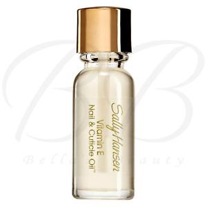 SALLY HANSEN Vitamin E Nail & Cuticle Oil Softens Hydrate Cuticles 13.3 ml *NEW*