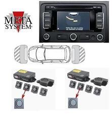 META Anteriore e Posteriore Sensori Parcheggio VW OTTICO OPS PDC RNS RCD Radio