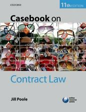 Casebook on Contract Law-Jill Poole, 9780199699483