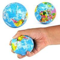 Stress Relief World Map Foam Ball Atlas Globe Palm Ball Planet Earth Ball