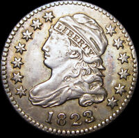 1823/2 Capped Bust Dime  ---- STUNNING Type Coin ---- #J207