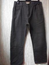 Mens Hutson Harbour Jeans ,Grey 34R, 100% Cotton