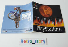 Sony Playstation PS1 - Forsaken - Notice / Instruction Manual