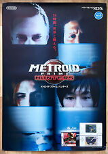 Metroid Prime Hunters RARE NDS 51.5 cm x 73 cm Japanese Promo Poster