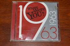 1963 : where were you  cd (various artists)