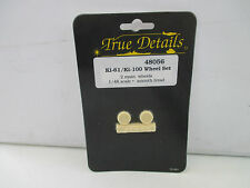 True Details 1/48 48056 accesorios ki-61/ki-100 Wheel set (ver foto) az93