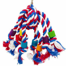 Colorful Bird Toy Parrot Swing Cage Parakeet Cockatiel Budgie Lovebird Supplies