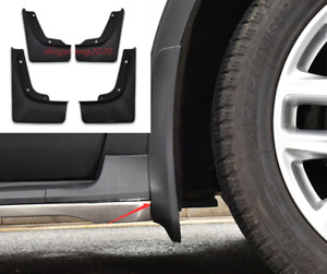4PCS ABS Plastics Mud Flaps Splash Guard Trim For Volkswagen Tiguan 2009-2019