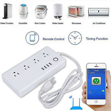 WiFi Wireless Smart Power Socket Outlet Switch Remote Control US Plug DIY Home