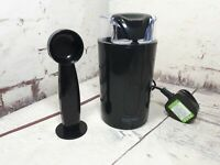 Cooks Electric Professional Bean Coffee Grinder Spice Nut Mill  With Spoon