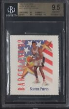 BGS 9.5 SCOTTIE PIPPEN 1991-92 SKYBOX MARK & SEE MINIS OLYMPIC TEAM USA GEM MINT