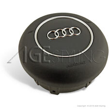 OEM Audi TT TTRS R8 RS4 RS6 S3 S5 A8 A3 Airbag Cover Flat Bottom Steering Wheels