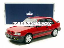 Modellini statici auto rossi per Peugeot
