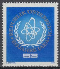 Österreich Austria 1977 ** Mi.1548 Atombehörde IAEA-Emblem Nuclear Authority