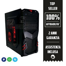 PC DESKTOP COMPUTER FISSO PC GAMING CPU INTEL QUADCORE RAM 4GB / HDD WINDOWS 10