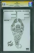 Fantastic Four 1 CGC 9.8 SS Dick Ayers RIP Original art Human Torch Sketch 2011