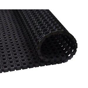 Non Slip Anti Fatigue Safety Mat Black 100 x 150 cm