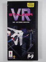 PANASONIC 3DO VR STALKER VIDEOGAME COMPLETE 1993